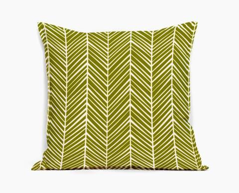 coussin-calcicola-vert-motif-chevron-herringbone