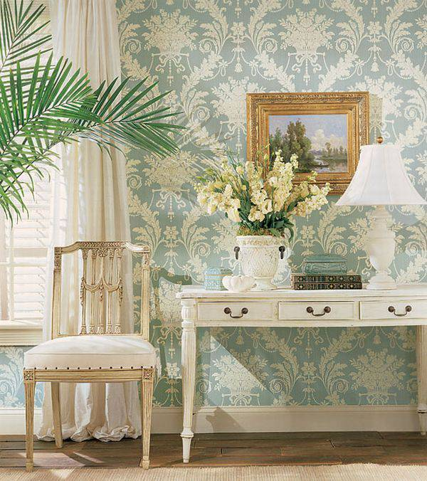 papier peint tendance salon. Black Bedroom Furniture Sets. Home Design Ideas